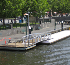 Unidock Handrails for Safety